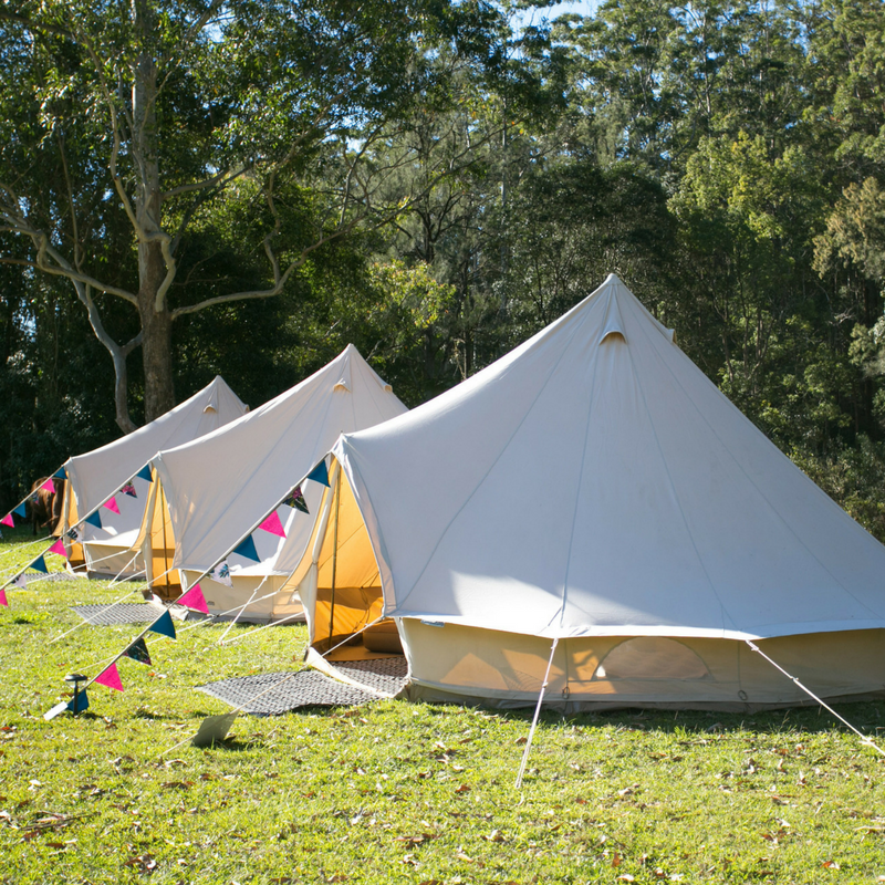 Montana Guest Retreat Gets A Fabulous Makeover For The: When Camping Becomes Glamorous ….. You Get Glamping